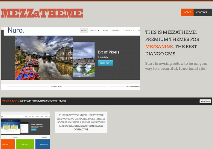 MEZZaTHEME featured image